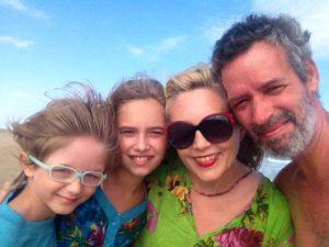 Tomi, Anita, Eli y yo
